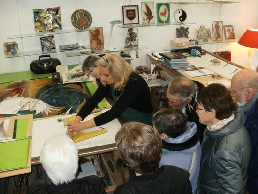 Atelier Dyl Vitrail - Artisan d'art - Maitre verrier Lisieux (6)