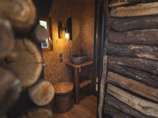 La Bulle Salle de bain cabane