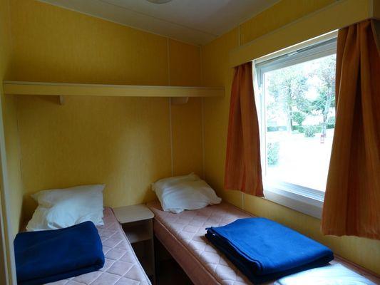 Camping de la Vallée à Lisieux Lits séparés
