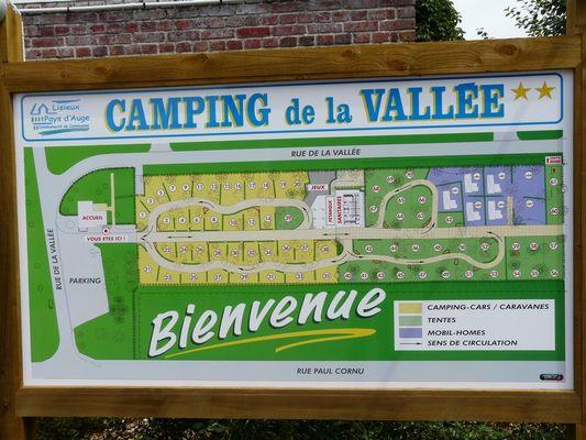 Camping de la vallée - 3 étoiles - Lisieux (2)