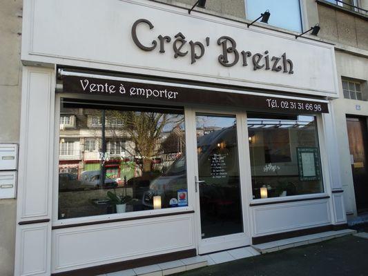 Crep Breizh façade