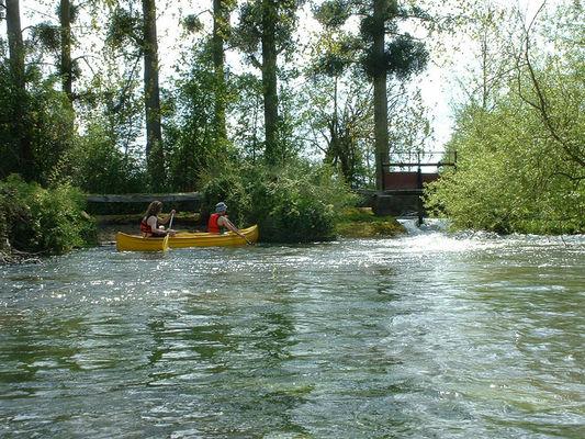 Descente de la Dives en canoë