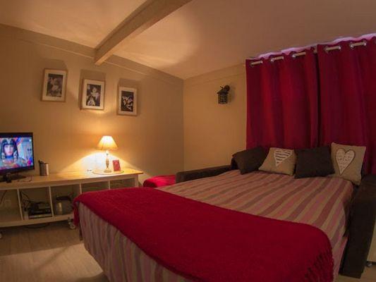 Domaine du Martinaa - Gite La Bouillerie - Valérie Roelens - Saint Martin de la Lieue (chambre)