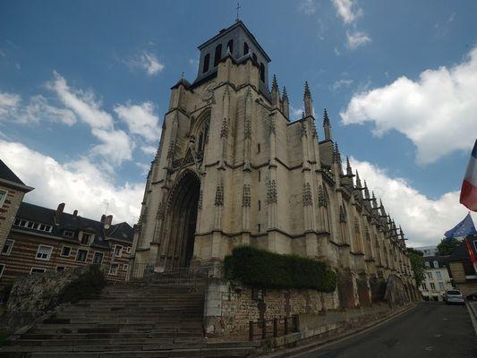 Eglise Saint Jacques Lisieux autre vue photo D.Lucas OT Lisieux