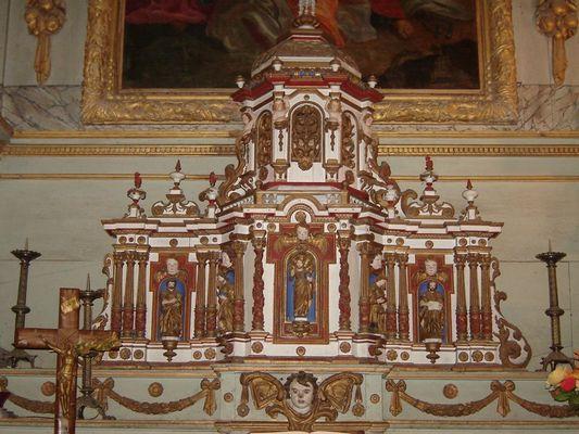 Eglise-St-Martin-de-Bienfaite-Retable