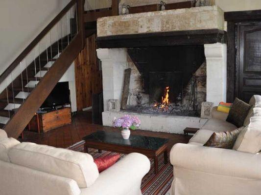 Ferme du Château Gite au Pin Chez Rebecca Whitehead sejour (2)