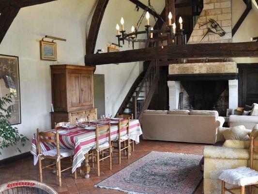 Ferme du Château Gite au Pin Chez Rebecca Whitehead sejour