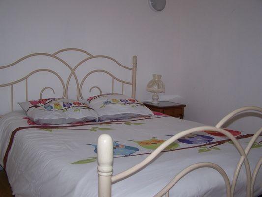 Gite-du-Haras-St-Martin-de-Bienfaite-mezzanine-avec-lit--chambre-1