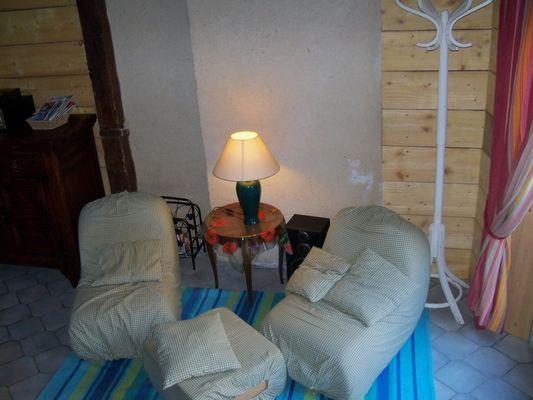 Gîte L'Orbecquoise salon
