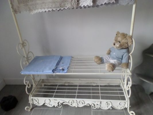 L'Atelier de Patricia à Saint-Germain-de-Livet meuble entree
