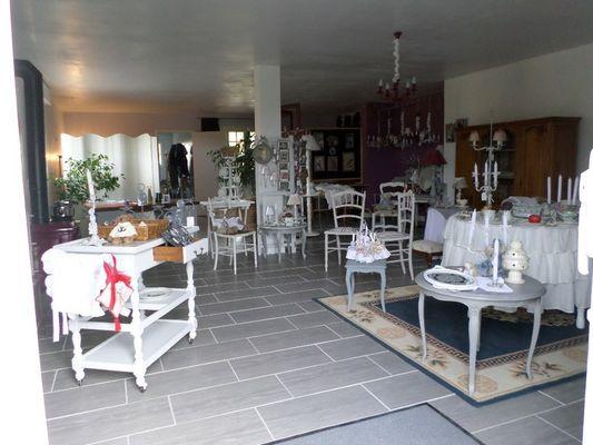 L'Atelier de Patricia à Saint-Germain-de-Livet vue interieure