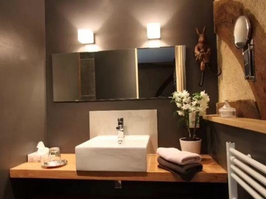La Bergère Chez Hendrika Walthaus Chambre d'hôtes à Lisieux prés de Lisieux Salle de bain