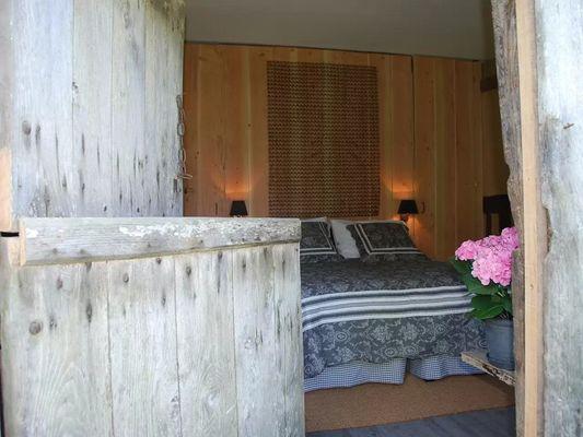 La Bergère Chez Hendrika Walthaus Chambre d'hôtes à Lisieux prés de Lisieux Vue chambre