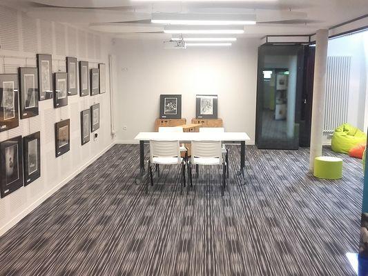 La Fabrique Médiathèque de Livarot Pays d'Auge Salle animations
