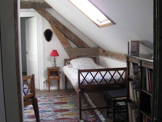 La Ferme du Chateau de Courtonne - gite - Philippe Gurrey - Fauguernon (lit 1 place)
