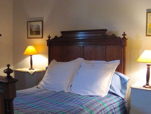 La Ferme du Chateau de Courtonne - gite - Philippe Gurrey - Fauguernon (lit 2 places)
