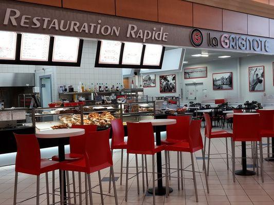 La Grignote Centre E.Leclerc Lisieux tables