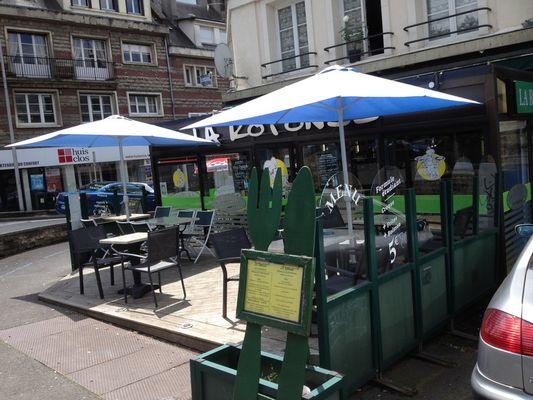 La Rotonde - Lisieux (terrasse)