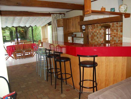 Le Moulin du Saut de la Truite Gite de Thierry Lelong à Hermival-les-Vaux 3 Cuisine à l Américaine