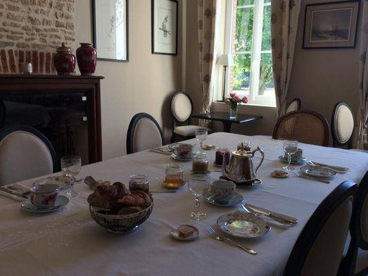 Le Presbytère Chez Sylvaine Decleves Chambre d'hôtes à Saint-Loup-de-Fribois (16)