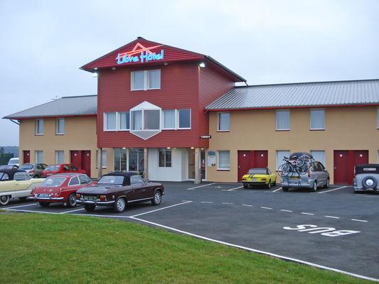 Libre-Hotel à Orbec - extérieur