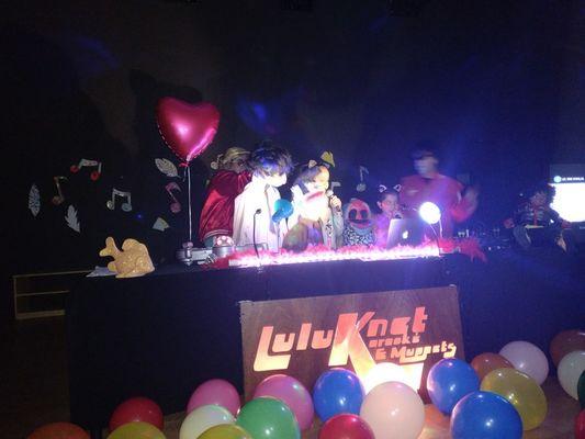 Luluknet et les muppets