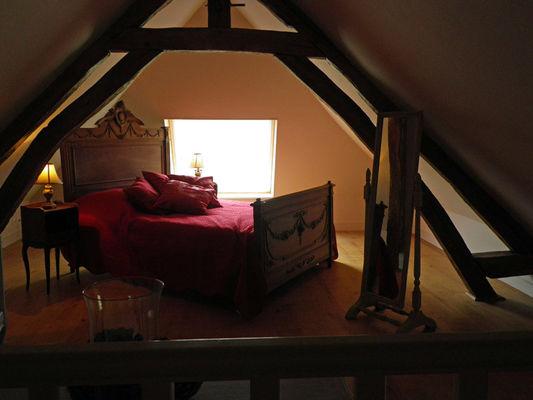 Le Manoir des Lords au Mesnil Durand, le Jardinier, Chambre