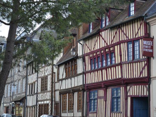 Musée d'Art et d'Histoire de Lisieux Façade du msée
