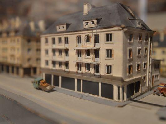 Musée d'Art et d'Histoire de Lisieux maquette
