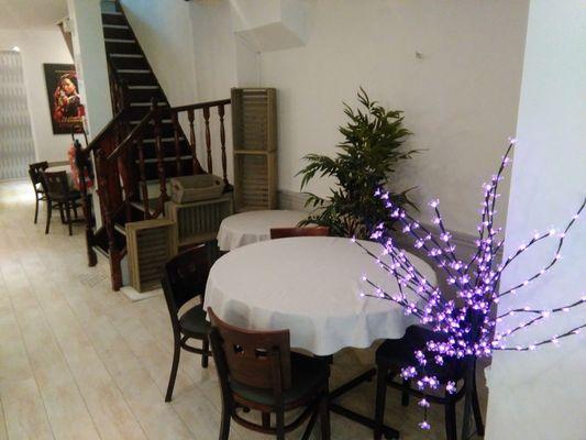 Restaurant Le Duplex Lisieux Tables au sous-sol