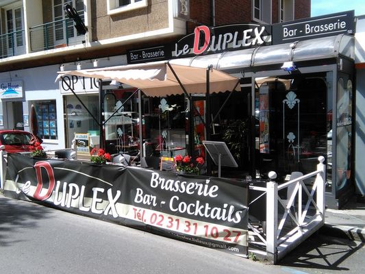 Restaurant Le Duplex Lisieux Terrasse