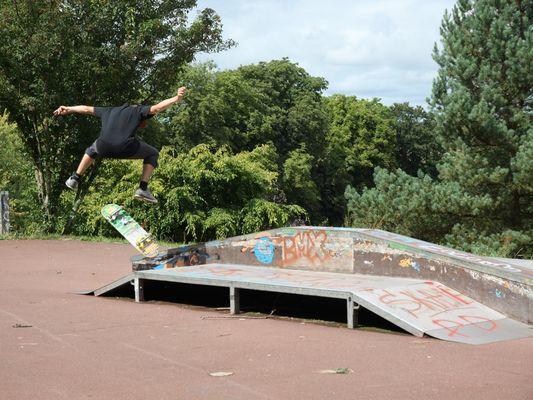 Skate park de Lisieux flip