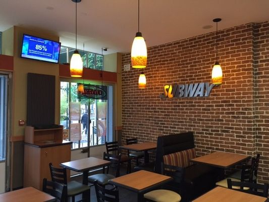Subway restaurant rapide à Lisieux salle