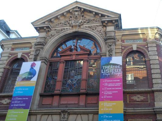 Théâtre Lisieux Normandie - Facade