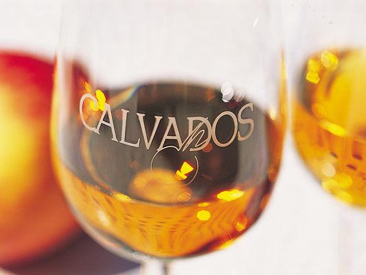 Verre de Calvados