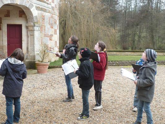 Visite château St Germain de Livet