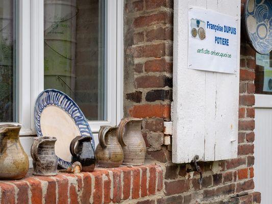 Atelier poterie Francoise Dupuis Orbec