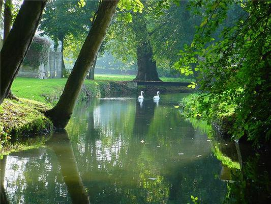Chateau et jardins de Canon