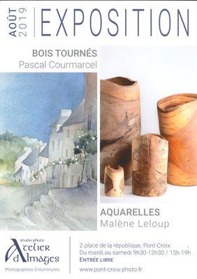 2019-08-exposition-courmarcel-leloup-pontcroix