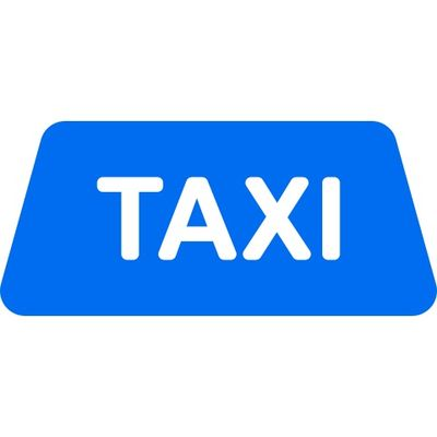 taxi-sign