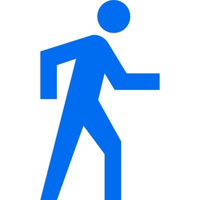 man-walking-directions-button