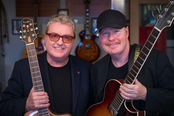Martin-Taylor-Ulf-Wakenius-duo de guitares LEGACY