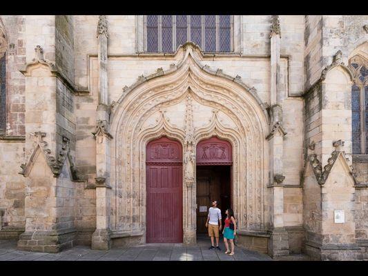 Basilique Notre-Dame du Roncier - Josselin - Morbihan - Bretagne