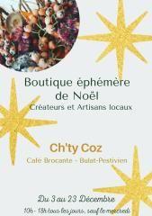 La Boutique Ephémère - Artisans d'art - Josselin - Morbihan - Bretagne