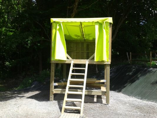 Campétoile - Hébergements insolites - Camping des Cerisiers - Guillac - Morbihan - Bretagne