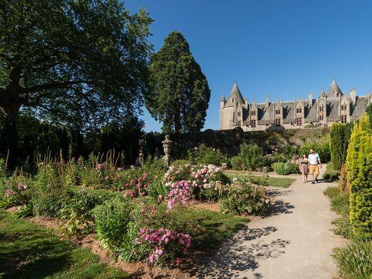 Jardins - Château de Josselin - Morbihan - Bretagne