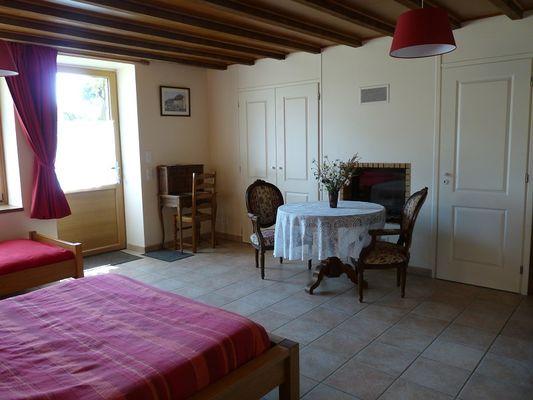Chambres d'hôtes Métairie de la Béraudaie chambre Bodou (2) - Bohal - Morbihan - Bretagne