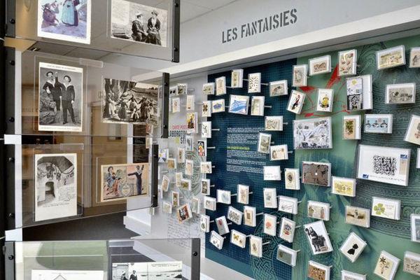 Le Carton voyageur - Musée de la carte postale