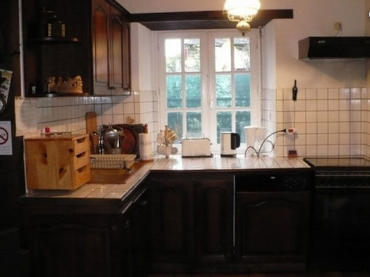 Gîte Danion cuisine - St Nicolas du Tertre - Morbihan - Bretagne