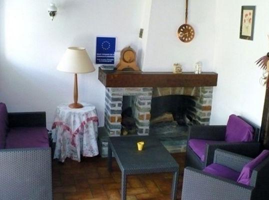Gîte Danion pièce à vivre - St Nicolas du Tertre - Morbihan - Bretagne